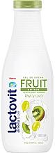 Perfumería y cosmética Gel de ducha con aroma a uva y kiwi - Lactovit Fruit Shower Gel