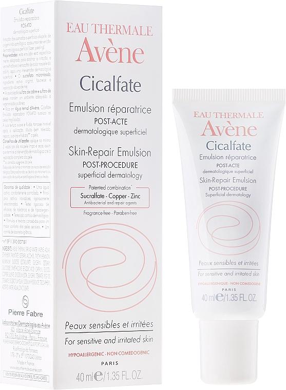 Emulsión facial regeneradora con glicerina y agua termal de avene - Avene Cicalfate Post-Acte Skin Repair Emulsion