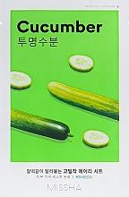 Perfumería y cosmética Mascarilla capilar con extracto de pepino - Missha Airy Fit Cucumber Sheet Mask