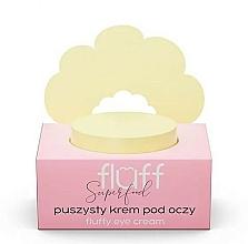 Perfumería y cosmética Crema contorno de ojos con extracto de caviar verde y seda - Fluff Fluffy Eye Cream