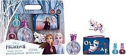 Perfumería y cosmética Disney Frozen II - Set (edt/50ml + esmalte de uñas/2x5ml + neceser cosmético)