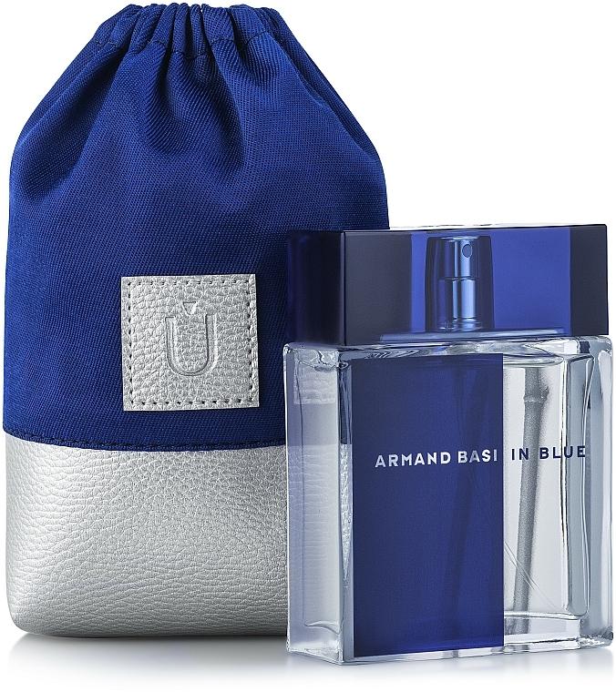 Bolso cosmético, azul (15x10x6cm) - MakeUp Perfume Dress (vacío)