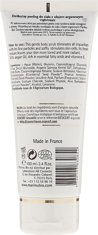 Exfoliante corporal bio con aceite de argán - Marilou Bio Argan Oil Body Scrub Gentle Exfoliator — imagen N2