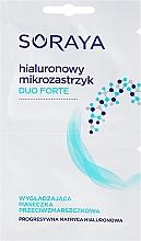 Perfumería y cosmética Mascarilla facial de tejido con ácido hialurónico - Soraya Duo Forte Face Mask