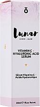 Perfumería y cosmética Sérum facial rejuvenecedor con ácido hialurónico y vitamina C - Lunar Glow Vitamin C Hyaluronic Acid Serum