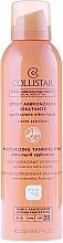 Perfumería y cosmética Spray bronceador hidratante SPF20, resistente al agua - Collistar Moisturizing Tanning Spray SPF20 200ml