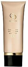 Perfumería y cosmética CC crema natural hidratante, SPF 30 - Oriflame Giordani Gold Caress SPF 30