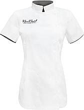 Perfumería y cosmética Delantal cosmético, talla XL, blanco - NeoNail Professional