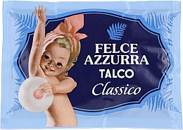 Perfumería y cosmética Polvo de talco corporal natural perfumado clásico - Felce Azzurra Classic Talcum Powder