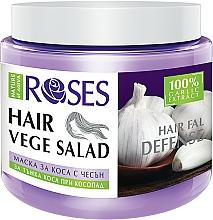 Perfumería y cosmética Mascarilla anticaída del cabello con extracto de ajo 100% natural - Nature of Agiva Roses Hairfall Defense Hair Mask