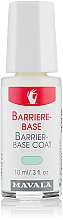 Perfumería y cosmética Base coat reparadora - Mavala Barrier-Base Coat