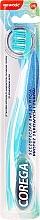 Perfumería y cosmética Cepillo de dientes y dentaduras postizas 2 en 1, azul claro - Corega