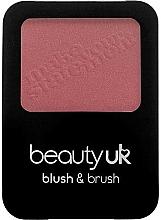 Perfumería y cosmética Colorete facial compacto - Beauty UK Blush & Brush