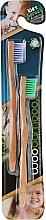 Perfumería y cosmética Cepillo dental ecológico de bambú, 2uds. - WooBamboo Kid's Toothbrush