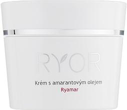 Perfumería y cosmética Crema facial con aceite de amaranto para pieles sensibles - Ryor Ryamar