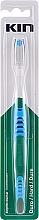 Perfumería y cosmética Cepillo dental de dureza dura, azul - Kin Hard Toothbrush