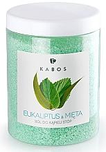 Perfumería y cosmética Sales para pies con eucalipto & menta - Kabos Eucalyptus & Mint Foot Bath Salt