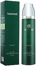 Perfumería y cosmética Tónico facial antiarrugas con extracto de lavanda y orégano - Shangpree S Energy All Day Preparation Toner