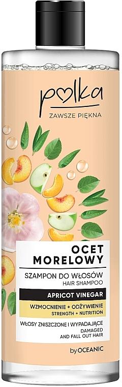 Champú para cabello a base de vinagre de frutas - Polka Apricot Vinegar Shampoo