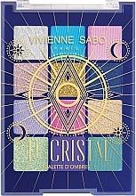 Perfumería y cosmética Paleta sombras de ojos - Vivienne Sabo Le Cristal Eyeshadow Palette