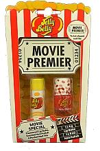 Perfumería y cosmética Jelly Belly Movie Mix Pack - Set (bálsamo labial/4g + esmalte de uñas/4ml + lima de uñas)