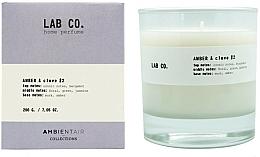 Perfumería y cosmética Vela aromática, ámbar y clavo - Ambientair Lab Co. Amber & Clove