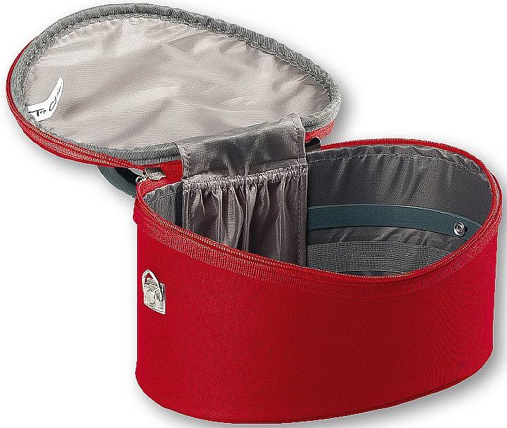 Neceser cosmético ovalado, rojo, 95085 (32,5x22x19cm) - Top Choice Oval Red — imagen N2