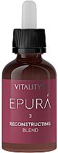 Perfumería y cosmética Concentrado resonstruyente para cabello con queratina biomimética y proteínas de avena - Vitality's Epura Reconstructing Blend