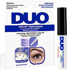 Perfumería y cosmética Pegamento para pestañas postizas resistente al agua, sin látex - Ardell Duo Quick Set