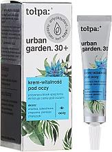 Perfumería y cosmética Crema revitalizante para contorno de ojos con ácido salicílico - Tolpa Tolpa Urban Garden 30+ Vitality Under Eye Cream