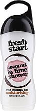 Perfumería y cosmética Gel de ducha con aceite de coco y extracto de lima - Xpel Marketing Ltd Fresh Start Coconut & Lime Shower Gel