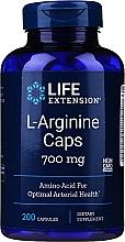 Perfumería y cosmética Complemento alimenticio en cápsulas arginina - Life Extension L-Arginine