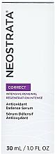 Perfumería y cosmética Sérum facial antioxidante con extracto de lila y té verde - Neostrata Correct Antioxidant Defense Serum