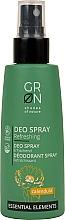 Perfumería y cosmética Desodorante spray orgánico con extraxto de caléndula - GRN Deo Spray Calendula