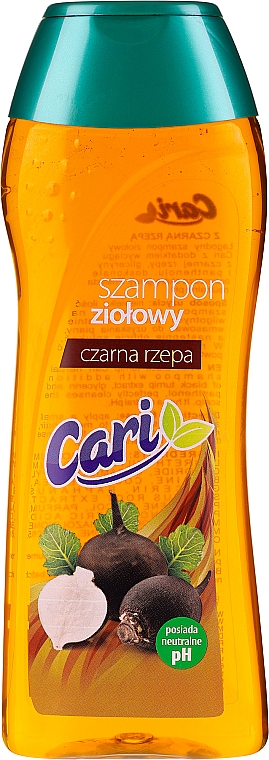 Champú a base de rábano negro - Cari Shampoo