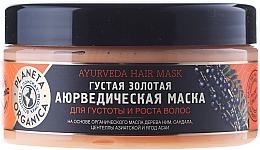 Perfumería y cosmética Mascarilla capilar con aceite orgánico de nim, sándalo y acai - Planeta Organica Ayurveda Hair Mask