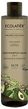 Perfumería y cosmética Champú acondicionador 2en1 vegano con aceite de aguacate orgánico y fosfolípidos - Ecolatier Organic Avocado Hair-Shampoo Balm