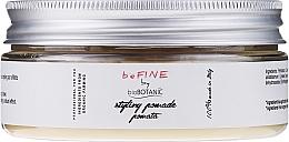 Perfumería y cosmética Pomada para moldeado de cabello con arcilla kaolín y aceite de lino - BioBotanic BeFine Styling Pomade