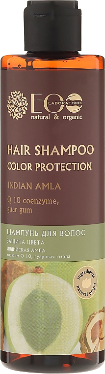 Champú protector del color con amla & coenzima Q10 - ECO Laboratorie Color Protection Hair Shampoo