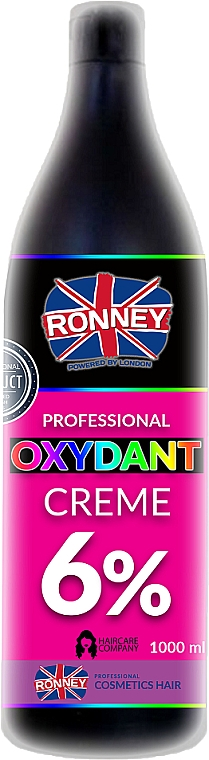 Crema oxidante profesional 20 vol. 6% - Ronney Professional Oxidant Creme 6%