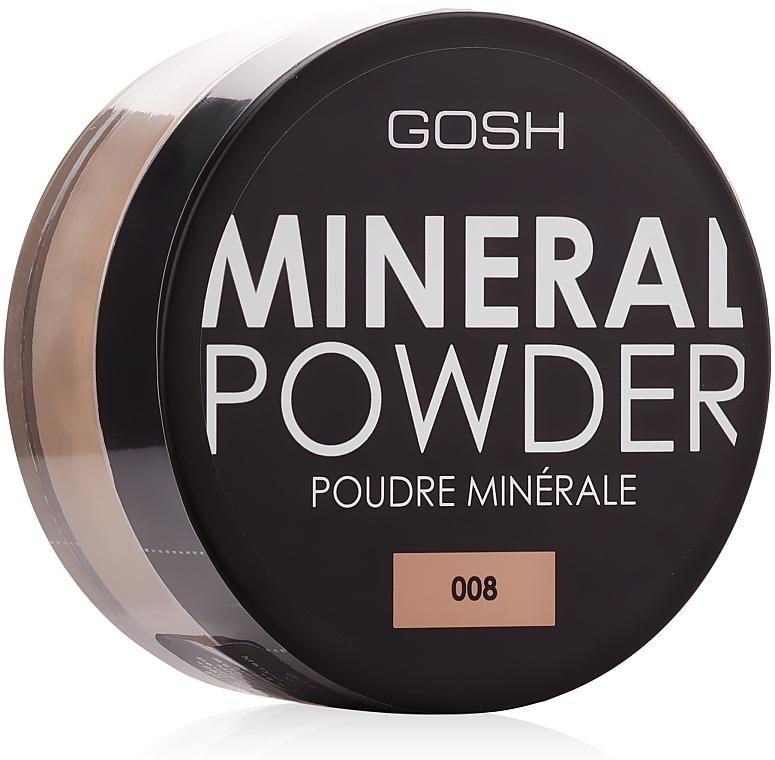 Polvo mineral fijador de maquillaje - Gosh Mineral Powder