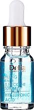 Perfumería y cosmética Sérum intensivo para rostro, cuello y escote con ácido hialurónico - Delia Face Care Hyaluronic Acid Face Neckline Intensive Serum