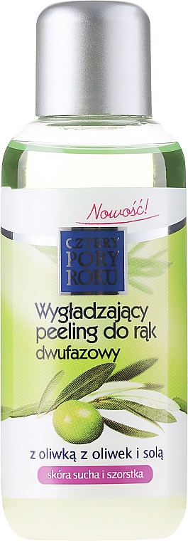Peeling de manos bifásico con aceite de oliva - Pharma CF Cztery Pory Roku Olive Hand Two-Phase Peeling