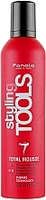 Perfumería y cosmética Mousse con fijación extra fuerte - Fanola STools Total Mousse Extra Strong Hair Mousse