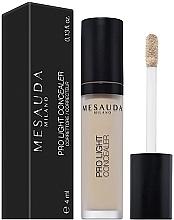 Perfumería y cosmética Corrector facial fluido hidratante - Mesauda Milano Pro Light Concealer