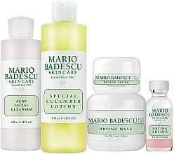 Perfumería y cosmética Set facial (loción/29ml+ crema/14g+mascarilla/56g+ limpiador/177ml+ loción/236ml) - Mario Badescu Acne Control Kit