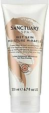 Perfumería y cosmética Loción corporal hidratante con aceites de albaricoque y aguacate - Sanctuary Spa Wet Skin Moisture Miracle