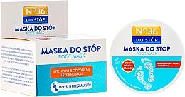 Perfumería y cosmética Mascarilla restauradora para pies con extracto de romero y aceite de rosa mosqueta - Pharma CF No.36 Foot Mask