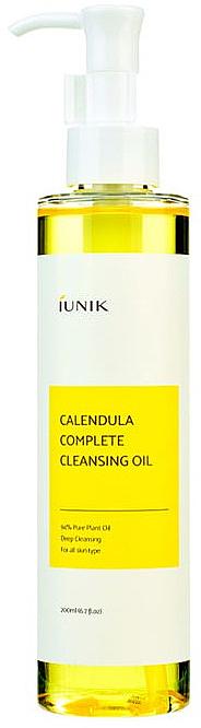Aceite de limpieza facial con extracto de caléndula - IUNIK Calendula Complete Cleansing Oil
