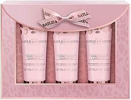 Perfumería y cosmética Set de manos - Baylis & Harding Jojoba, Vanilla & Almond Oil Hand Cream Set (cre.manos50mlx3)